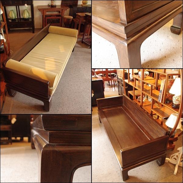 中国アンティーク ベッド 寝台