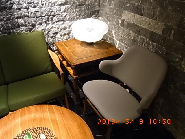 浅草ビューホテルレストランの中国家具2