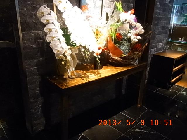浅草ビューホテルレストランの中国家具3