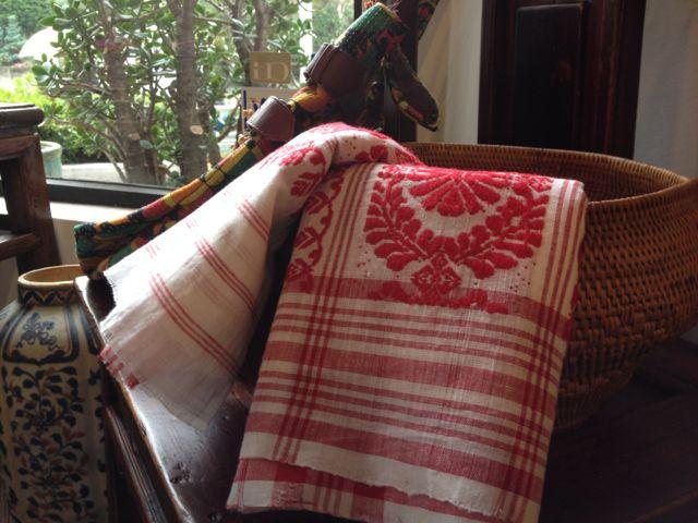 インドアッサムのタオル