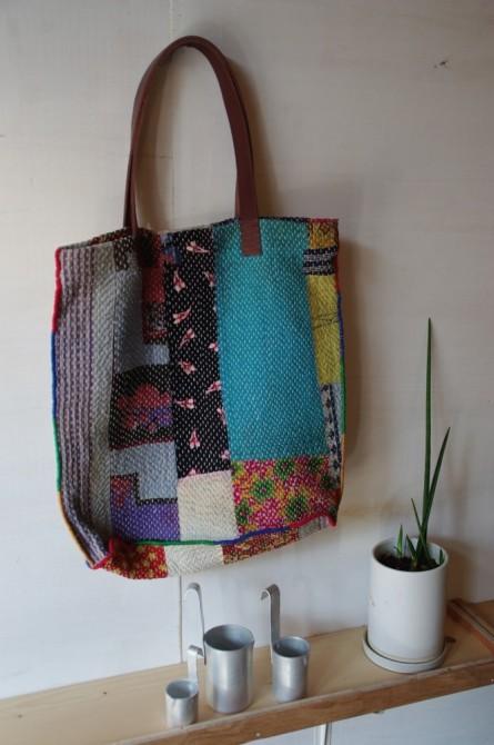 インド刺し子のバッグ グドゥリGudri bag