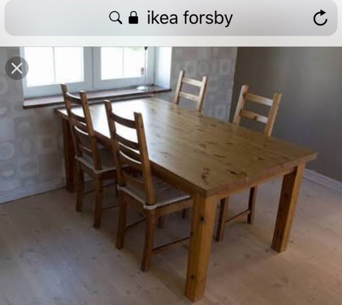 ikea dinning table DIY remake